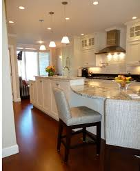 kitchen island table combo interior design