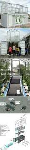 shipping container turned into a urban farm unit containerhome
