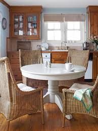 wicker kitchen furniture kitchen backsplash ideas heres a corner kitchen decked
