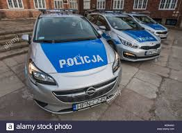 opel corsa 2016 gdansk poland 13th dec 2016 opel corsa police car is seen