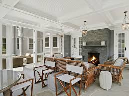 Screen Porch Fireplace by Porch Beautiful Screened Porch Ideas Porch Screenedporch