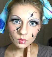 Halloween Costumes Creepy Doll Create Halloween Costume Makeup Porcelain
