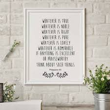 Bible Verse Print Christian Wall Decor Bible Quote Canvas Painting