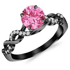 pink camo wedding rings wedding rings pink camo diamond wedding ring set pink camo