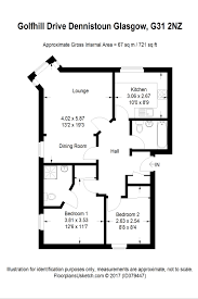Cubicle Floor Plan by Dennistoun Property For Sale