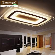 illuminazione interna a led sottile quadrato soffitto illuminazione interna led