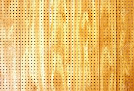 Pegboard Wooden Pegboard For Abstract Background Stock Photo Picture And