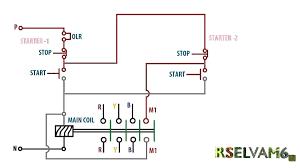 dol starter wiring diagram pdf dol wiring diagrams