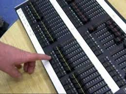 dmx light board controller dickens stage lighting console control youtube