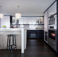 Expensive Kitchens Designs by Luxury Kitchen Design With Unique Red Gloss Cabinets Using Classy