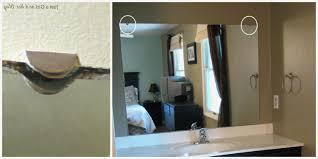Flat Bathroom Mirror by Large Flat Bathroom Mirrors New Diy Framed Mirror Bathroom Ideas