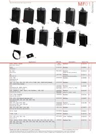 massey ferguson contents page 17 sparex parts lists u0026 diagrams