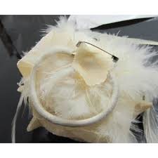 hair corsage flower feather prom wrist corsage hair clip fascinator pin brooch