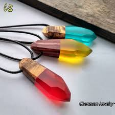 resin necklace wholesale images China wholesale epoxy resin pendant necklace resin wood jewelry jpg