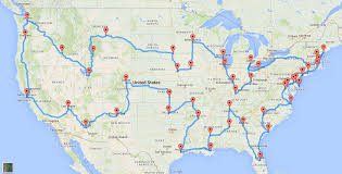 Colorado On The Map by This Is The Perfect Us Road Trip According To Scientists