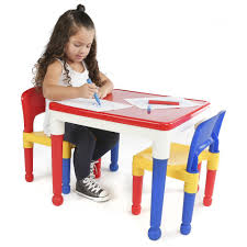 learning desk for tot tutors 2 in 1 plastic building block compatible activity table