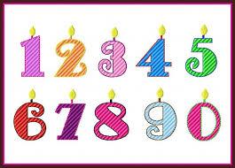 number birthday candles birthdaycandlenumbers jpg
