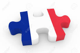 Flag Of Franc French Flag Puzzle Piece Flag Of France Jigsaw Piece 3d