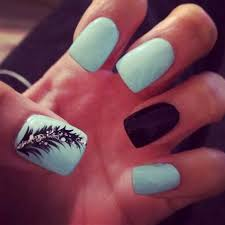 Baby Nail Art Design 40 Blue Nail Art Ideas For Creative Juice
