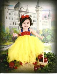 Etsy Infant Halloween Costume Beautiful Snow White Tutu Dress Costume Red Hair Bow Baby