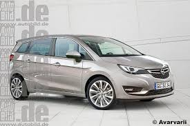 opel meriva 2016 2017 opel meriva early 2017 launch rendering