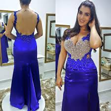 modern appliques beadings mermaid evening dress 2016 plus size
