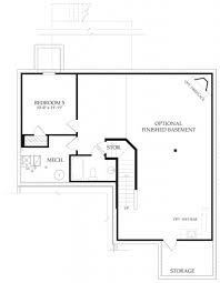modern home interior design ranch house plan with 3 bedrooms and