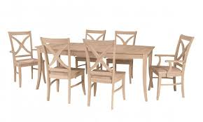 unfinished kitchen furniture unfinished kitchen table and chairs zonapetir