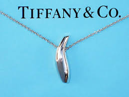 silver fish necklace images Tiffany co frank gehry sterling silver fish necklace ebay jpg