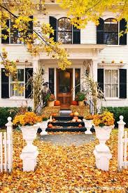 Gorgeous front door fall decorating ideas Four Generations e Roof