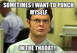 Throat Punch Meme - punch