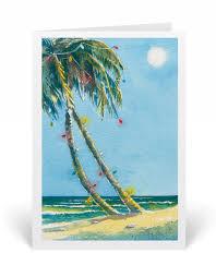 tropical beach hawaiian holiday cards 4610v harrison greetings