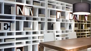 librerie muro libreria modulare moderna bifacciale brick sololibrerie