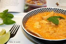recette cuisine malaisienne petits repas entre amis laksa de poulet soupe malaisienne