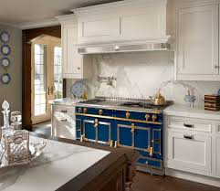 decoration kitchen tiles idea chateaux la cornue kitchen designs beautiful blue design with gray island