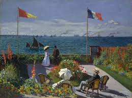 Painting A Flag Garden At Sainte Adresse Wikipedia