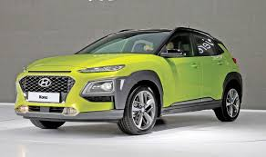 hyundai kona subcompact crossover will start in a hole