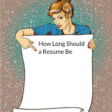 How Many Pages Can A Resume Be Resume Velvet Jobs