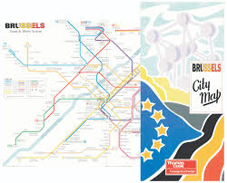 Eurostar Route Map by Thomas Cook Foreign Exchange Premium City Guides Robin Worldwide