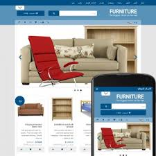 theme furniture furniture business category e commerce design templates themes