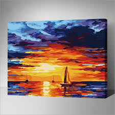 modern painting pictures acrylic paints by numbers digital