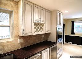 Brown Subway Travertine Backsplash Brown Cabinet by Download Kitchen Backsplash Cream Cabinets Gen4congress Com