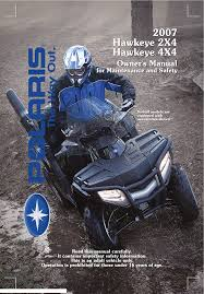 polaris offroad vehicle hawkeye 300 4x4 pdf owner u0027s manual free