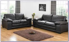 Black Leather Sofa Sets Arianna Black And White Bonded Leather Sofa And Loveseat Set