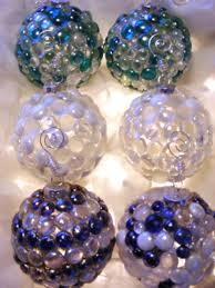 sea glass christmas ornaments hgtv