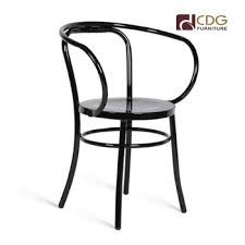 black thonet directors chair thonet with armrest chair buy black