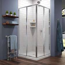 34 Shower Door Clear Chrome Special Values Shower Doors Showers The
