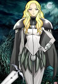 claymore teresa claymore lineart paint by thiagorafael on deviantart