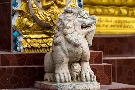pixiu statue pixiu statue lucky animal mascot stock image image of
