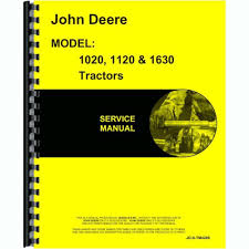 service manual for john deere tractor 1630 ebay